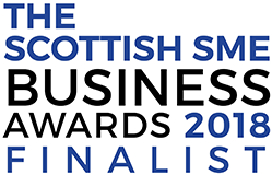 Scottish SME business awards finalist 2018
